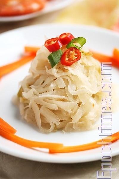 【缎妹美食坊】炒萝葡丝及古早腌制法
