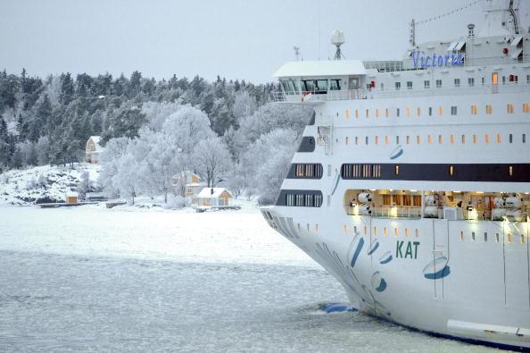 冰层太厚 50船只数千乘客被困波罗的海