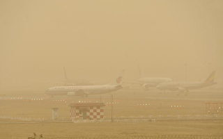 第二场沙尘暴袭击北京