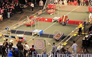 机器人大赛区域决赛激战正酣