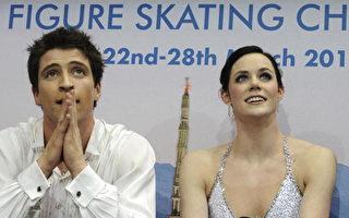世界花式滑冰賽  加拿大搭檔雙人冰舞摘金