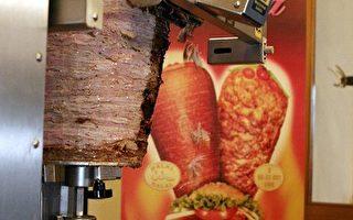 烤肉串切肉机德国亮相  快速又卫生