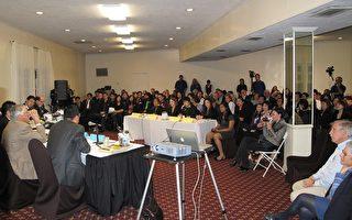 亚市市议员竞选最后一场辩论结束