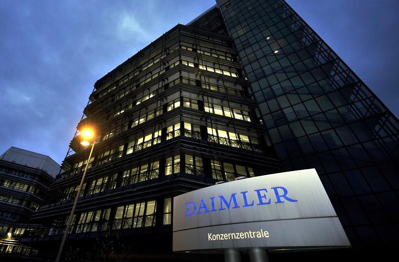 奔馳豪華車製造商戴姆勒周二宣佈,暫停在伊朗的業務。(AFP)