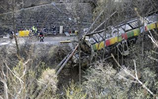 意大利北部列车山崩出轨 9死28伤