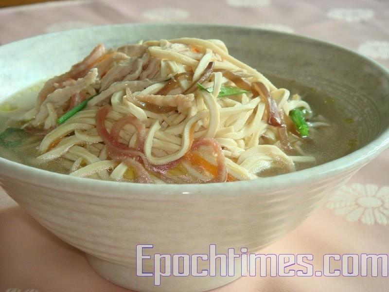 【美食典故】东亚名肴的大煮干丝