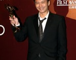 早前謝霆鋒已憑借《十月圍城》於「第四屆亞洲電影大獎」獲得最佳男配角。(圖/大紀元)