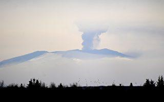 冰島火山 開始噴發紅色岩漿