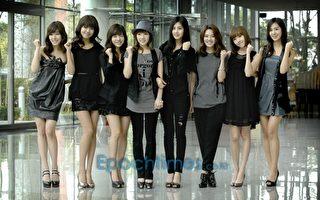 韩国少女时代上海开唱场面热烈