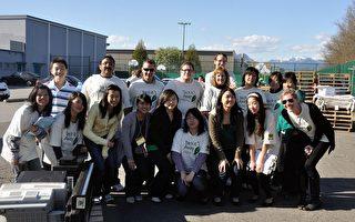 地球日 溫哥華學生回收電子垃圾