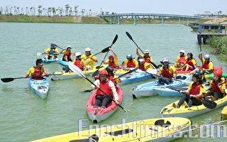 全国首届独木舟赛 风之谷竞技