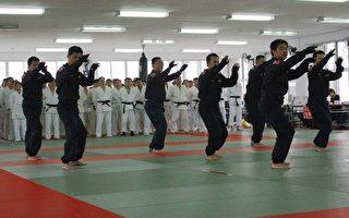 苗縣警局警技訓練   柔、跆拳道展身手