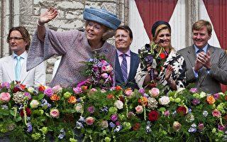 荷兰庆祝女王节