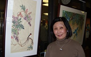 把中国传统绘画艺术带入加拿大