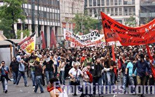 希臘危機驟起 文明之源沉淪