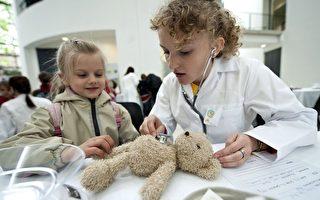 泰迪熊醫院門診 小朋友不再怕看醫生