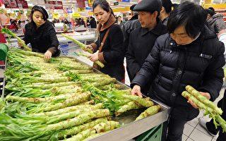 中国最新通胀率2.8%菜篮子负担沉重