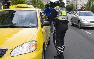 长周末温哥华严打十字路口违规驾车