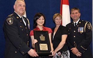 加拿大新唐人電視獲警察局新聞獎