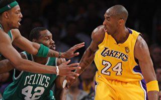 NBA總冠軍賽第一戰 科比30分破解綠衫軍防守