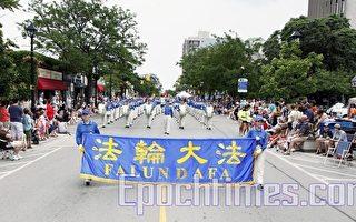 多倫多天國樂團週末參加三場慶祝遊行