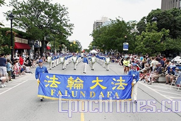 多伦多天国乐团周末参加三场庆祝游行