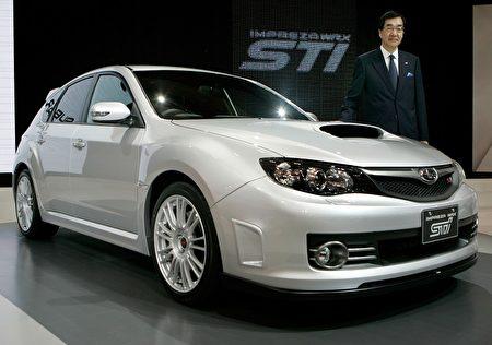 跑车型中,Subaru Impreza WRX/STI保值率47.8%(法新社图片)