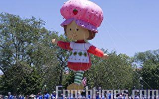 美國首都國慶大遊行 展現美國精神