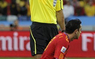 韦比担任决赛主裁判 西班牙不满