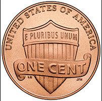 美国新分币不再以林肯纪念堂为特征