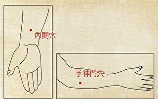 簡易按穴療法──手麻