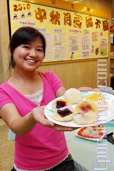 中秋月饼热量高  分食美味又健康