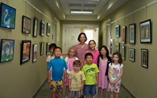 黃美玲分享孩子的美術天空