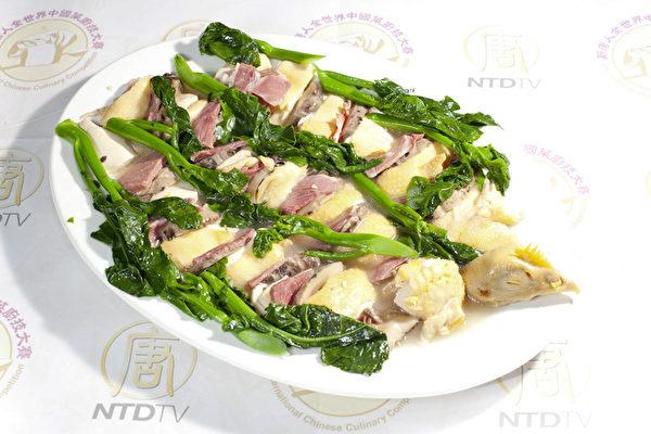 組圖:第三屆「全世界中國菜廚技大賽」決賽第五輪