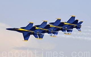 組圖:聖地亞哥航空展藍天使特技飛行隊