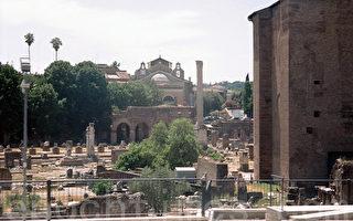 悠悠的歷史長河裡,富貴榮華,如過眼雲煙。圖為羅馬古城廢墟。(圖:大紀元)