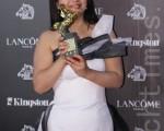 第47屆金馬獎最佳女主角,由呂麗萍以《玩酷青春》奪得影后(攝影: 林仕傑 / 大紀元)