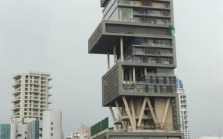 印度首富建超豪宅遭控侵占土地
