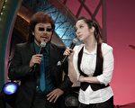 许慧欣近日宣传百老汇音乐剧,首次通告先给综艺大哥大,让张菲直说很感动(图/中视提供)