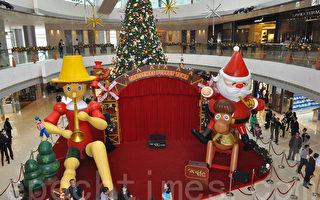 全港最大木偶迎聖誕
