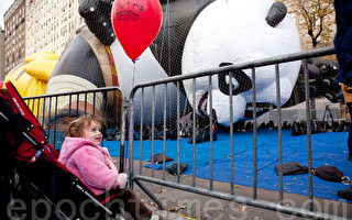 功夫熊猫首临梅西感恩节游行