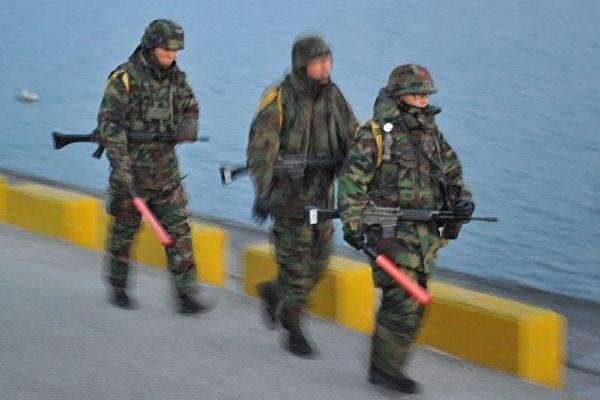 美韓軍演航母出動 北韓前方再傳炮聲