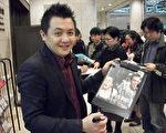 高盟杰在此次东京FILMAX影展上也意外成了焦点。(图/海鹏提供)