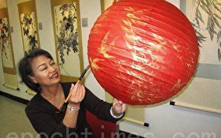 陈若慧擅水墨画   彩绘陶瓷挑战受瞩目