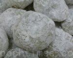 好吃的豆沙麻糬(攝影: 劉玉嬋 / 大紀元)