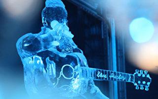 组图:遨游梦幻世界 比利时冰雕艺术节