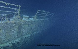 泰坦尼克号正在被吃铁细菌吞噬