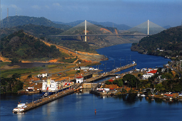 湖泊暴漲 巴拿馬運河被迫關閉