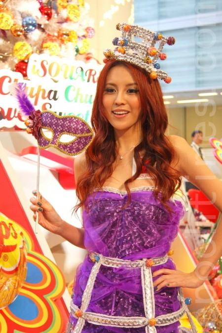 名模、港姐、歌手齊演繹糖果時裝