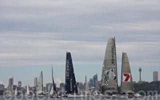 組圖:第66屆悉尼至霍巴特帆船賽揚帆起航